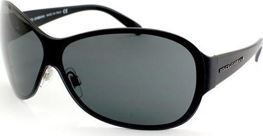 Dolce & Gabbana Sunglasses Black Black D&G Aviator style DG2046  Made in Italy  #DolceGabbana