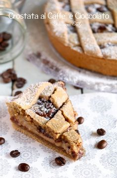 Crostata al Caffè e Cioccolato