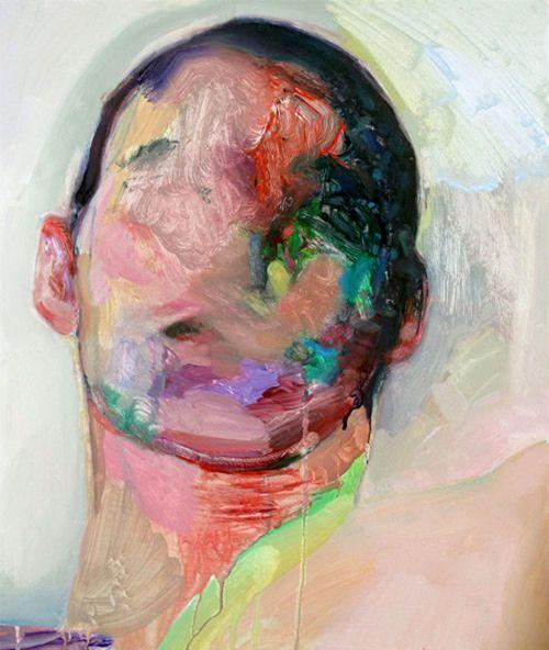 Winston Chmielinski, Color Me Quiet, 2010, acrylic on canvasArtists Eye, Winston Chmielinski, The Artists, Portraits 15, Saatchi Online, Online Artists, Winstonchmielinski, Artists Winston, Chmielinski Artists