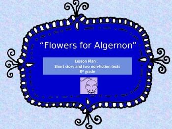 three life lessons from flower for algernon In flowers for algernon by daniel keyes, it could be argued that charlie's life was not a better one after his surgery as he became more and more intelligent, charlie realized, for example, that.
