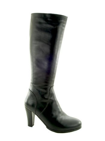 Hand made, customized high heel boot.