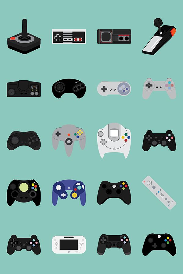 "retrogamingblog: "" Console Evolution """