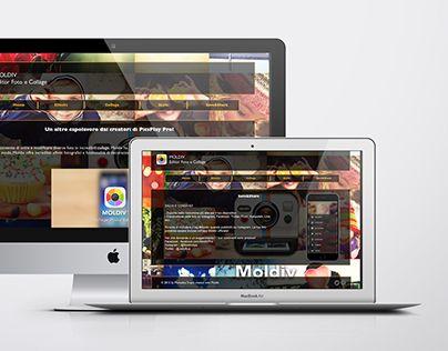 "Check out new work on my @Behance portfolio: ""Photo app - Website"" http://on.be.net/1Mjl9zD"