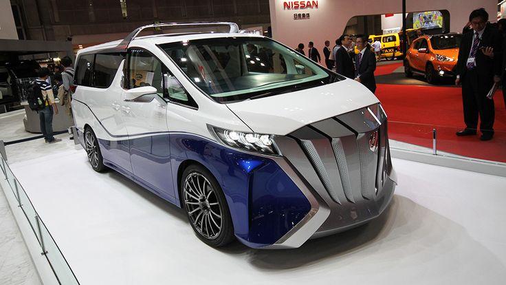 2015 Toyota Alphard Hercule concept