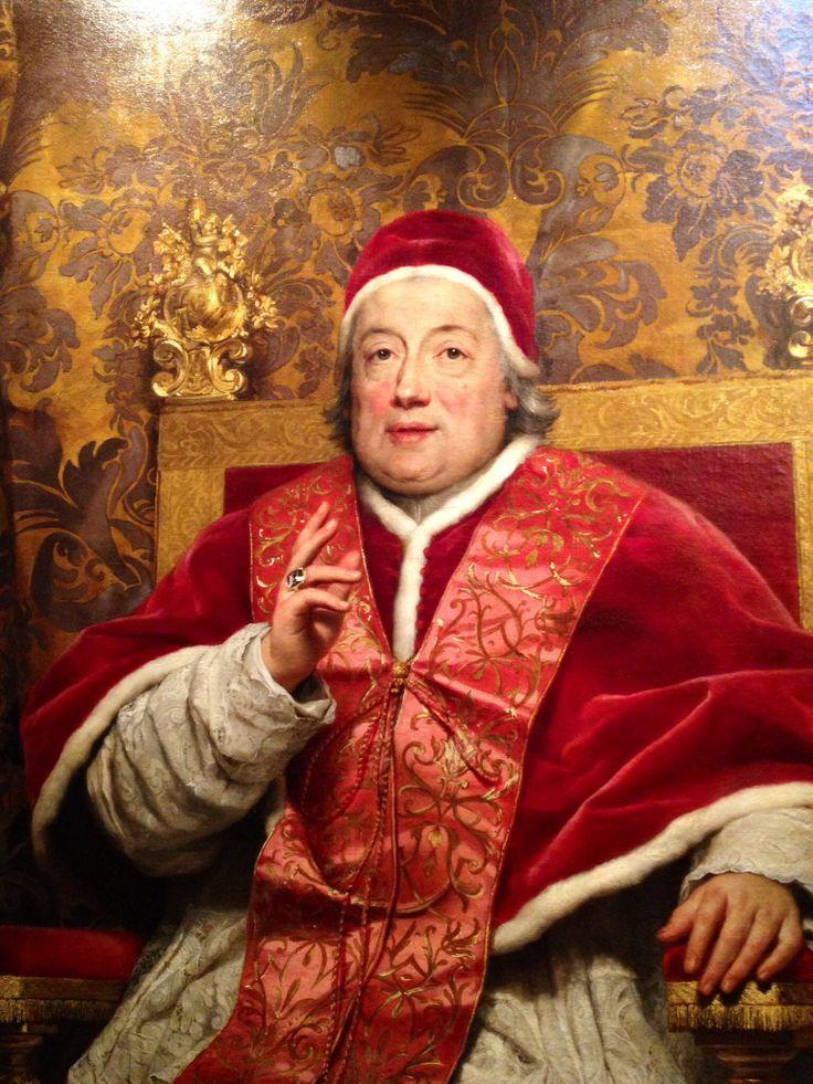 Clemente XIII di Anton Raphel Mengs
