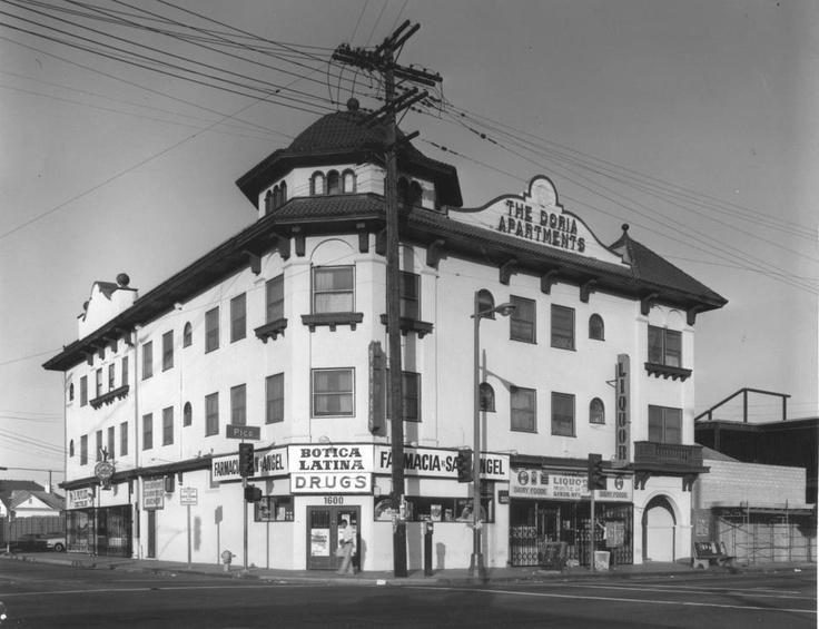 Doria Apartments 1905 Pico Union Los Angeles Pinterest