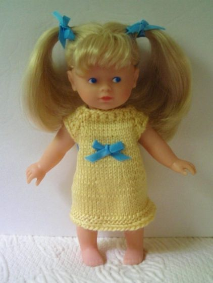 Ravelry: SterlingWintersets Mini Corolle doll knit dress Knitting For ...