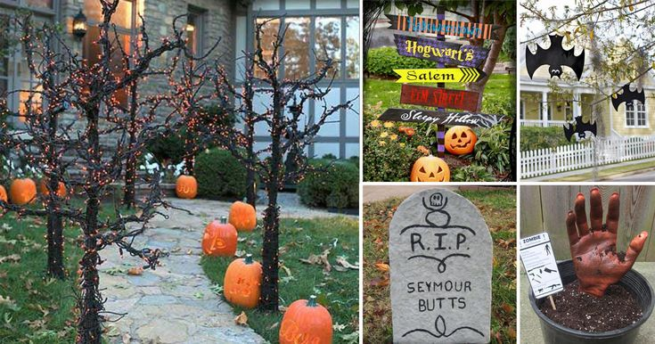 A roundabout of 50 fun and scariest DIY Halloween Garden Ideas for your outdoors to try!