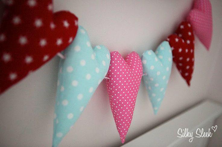 Heart ribbon for baby girl http://silkysleek.blogspot.fi/