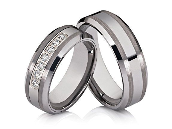 ... Online on Pinterest  Wedding Ring, Wedding Bands and Trauringe Silber