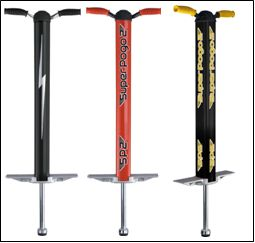 The Flybar Super Pogo 2 sticks for Girls and Boys is a great pogo stick for intermediate and expert pogo jumpers. Currently, it is available at Amazon.com at a discounted price of $113.67-$122.06. Click on http://bestkidsrideontoys.com for more detail.