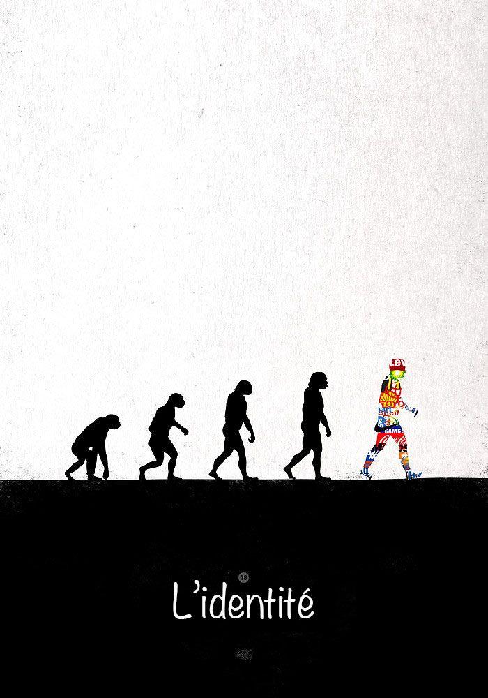 38 illustrations satiriques qui dépeignent avec humour l'évolution discutable de…