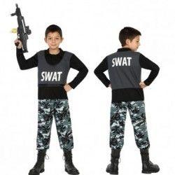 Disfraz #Policía Swat Infantil #mercadisfraces #tienda de #disfraces #online disponemos de disfraces #originales perfectos para #carnaval.
