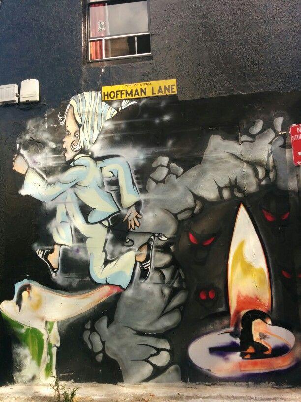 Graffiti @ Newtown, NSW, Australia