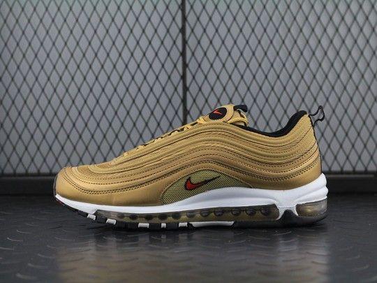 """NIKE WOMENS AIR MAX 97 """"METALLIC GOLD"""" 885691 700   Nike air"""