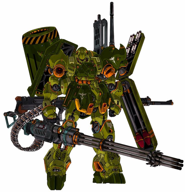 High Detail Gundam and Mobile Suit artworks by PlamoHuman - Gundam Kits Collection News and Reviews
