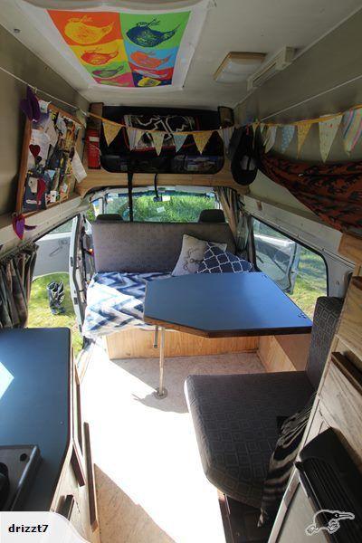Campervan Ford Econovan Maxi – High top! Fully eq. | Trade Me