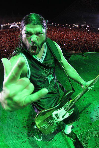 Rob Trujillo - current bassist for Metallica. Love him!