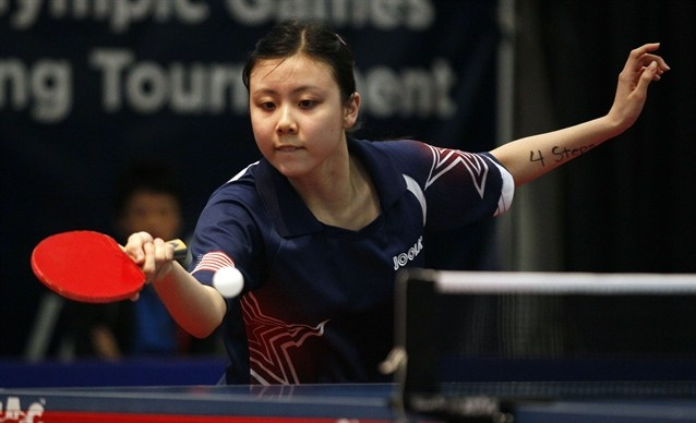 16-year old U.S. Olympic table tennis player Ariel Hsing was born in Fremont, Calif. Hsing was raised and currently resides in San Jose, Calif.