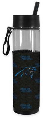 NFL Carolina Panthers 24 oz. Slim Water Bottle Tumbler