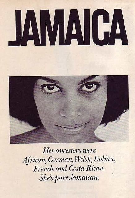 "Jamaica is very diverse. I myself am Jamaican, American, British and Ethiopian. ""Out of many, one"" is very true!"