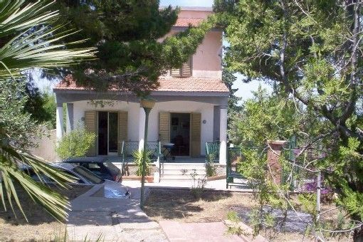 Casteldaccia Vacation Rental - VRBO 628277a - 5 BR Sicily Villa in Italy, San Nicola, Villa Immersed in a Garden, Close to the Sea