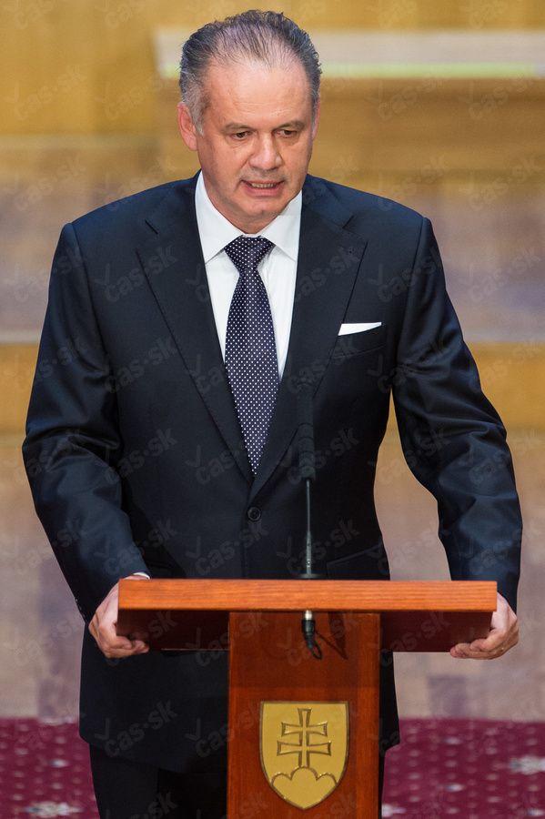 Andrej Kiska is new president of Slovakia (by SITA)