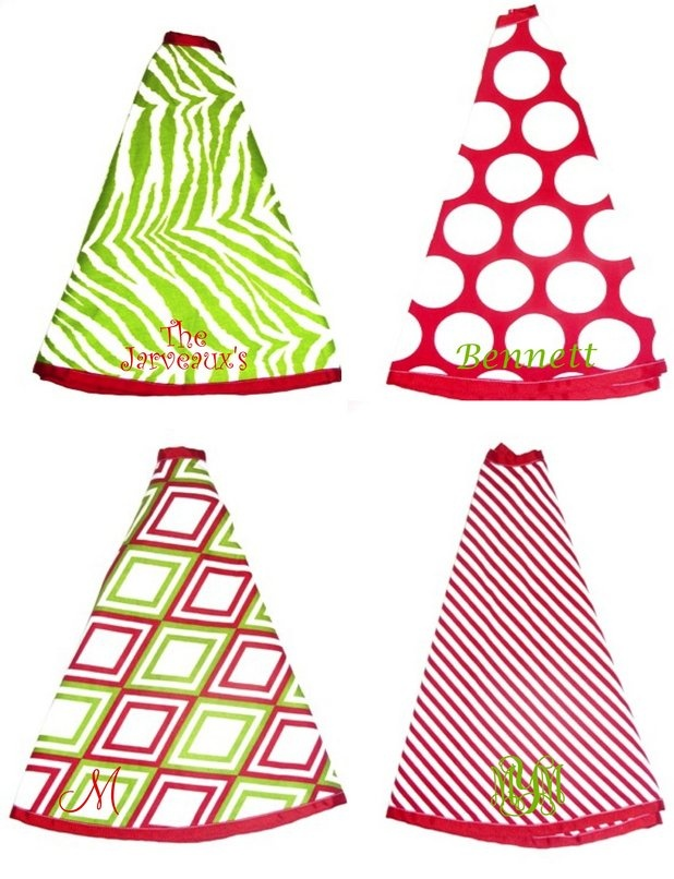 Love these tree skirts!