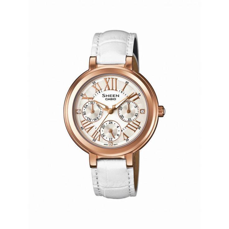 Casio Sheen Classic SHE-3034GL -7AUER w Time Trend.   www.time trend.pl  #zegarek #zegarki