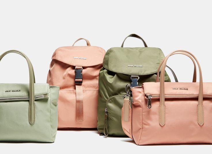 Ladybag de nylon con asa logotipada - Para ella | Adolfo Dominguez shop online
