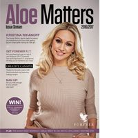 This season's edition of Aloe Matters magazine is dedicated to looking after yourself and ensuring that you have the support you need to build a healthier you in 2017. This issue will introduce the new Forever F.I.T. programme, it contains an exclusive interview with UK F.I.T. Ambassador and former Strictly dancer Kristina Rihanoff, and there are also recipe ideas, inspirational stories, lifestyle and healthy living advice and so much more.