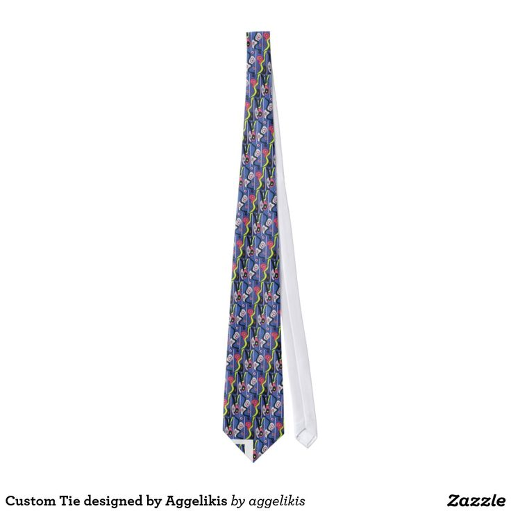 Custom Tie designed by Aggelikis