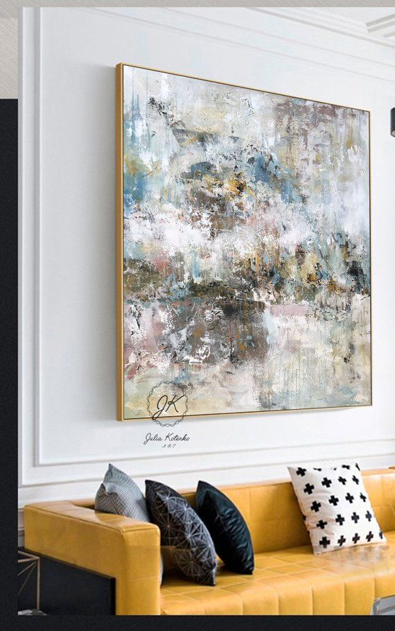 Large Abstract Oil Painting Textured Large Wall Art Wall Etsy Large Canvas Art Modern Abstract Painting Large Wall Art