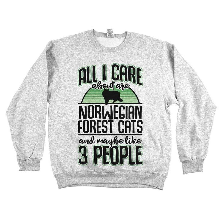 'All I Care About Are Norwegian Forest Cats'