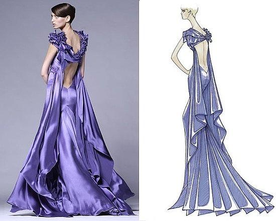 Orginal look of Versace Couture   Sketchbook   Pinterest ...