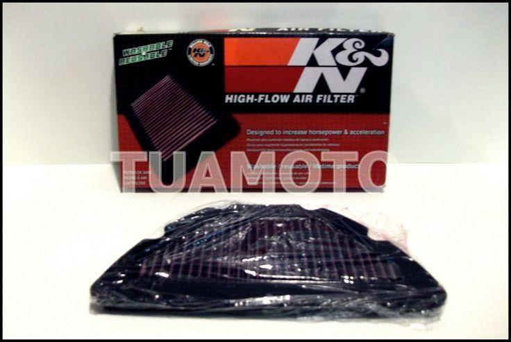 (1) Filtro De Aire K&n Para Yamaha R1 2004 Al 2006 Tuamoto !! - $ 1.430,00 en MercadoLibre