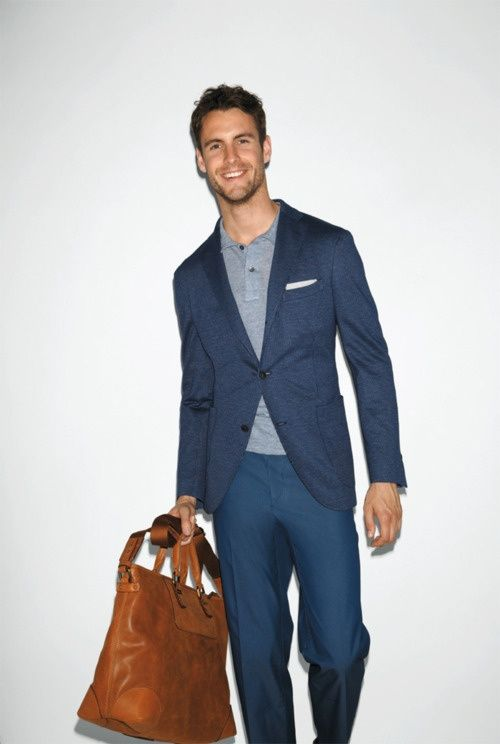 henley t-shirt under a suit | MENSWEAR