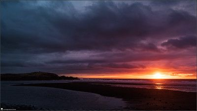 Sunset, Iceland, colorful, ocean, at the sea, dark, beautiful, landscape, photography, nature, travel, Images Beyond Words, Serge Daniel Knapp, art
