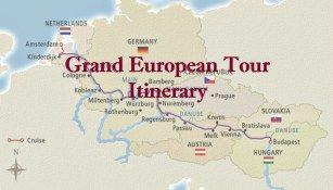 Viking Grand European Tour River Cruise Itinerary & Journal