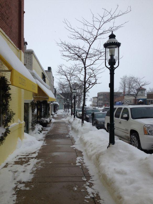 Small town, Lake Edna Michigan