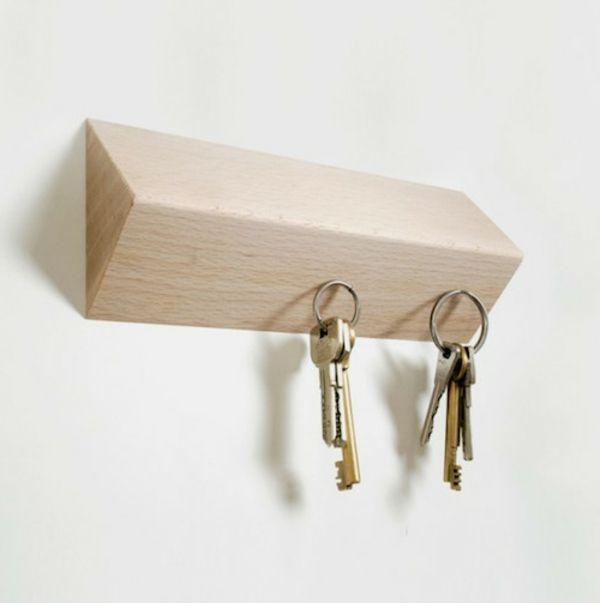 rangement de clés original, porte clé magnétique