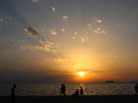 Glorious Sunset - stock photo