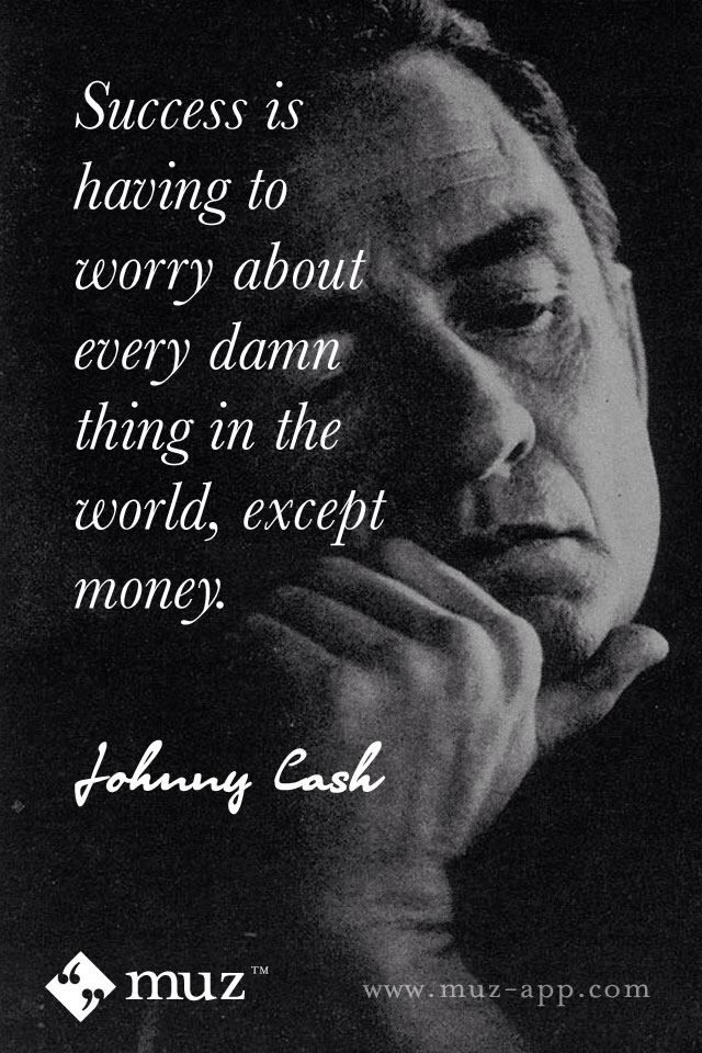 Johnny Cash = perspective