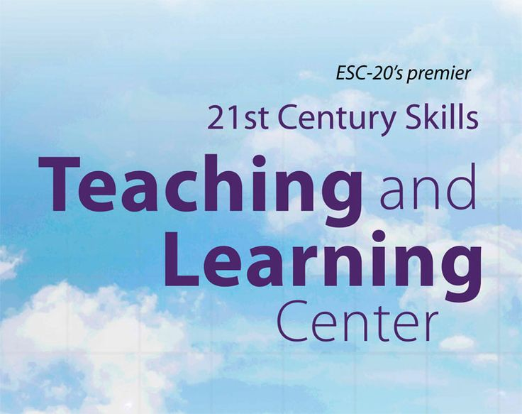 Learn 4 21 is an Education Service Center, Region 20 initiative that offers specialized training in educational technology, library services, career and technical education (CTE), workforce advancement, and certification preparation.  With a focus on 21st Century skills, our goal is to provide quality training opportunities to assist all learners in realizing their maximum potential.