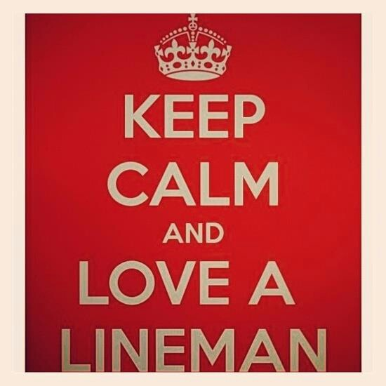 Love a lineman <3 We all need support! I've created a page just for that and health and fitness! <3 Come and join me~~