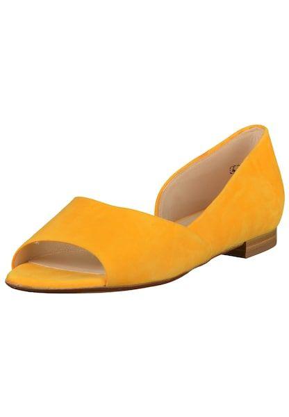 PETER KAISER Ballerinas gelb #schuhe #fashion #shoes