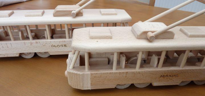 Straßenbahnen Geschenke Spielzeug mit Gravur