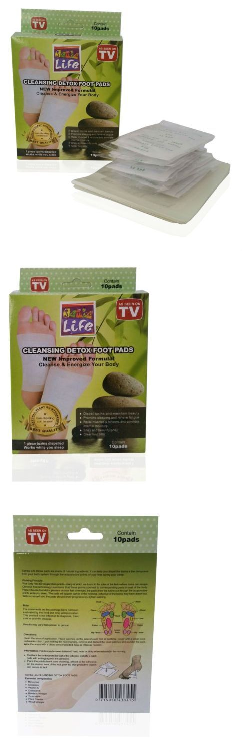 Detox Pads: Herbal Detox Foot Pads Detoxification Cleansing Patches Kinoki Foot Detox By Sam BUY IT NOW ONLY: $34.99
