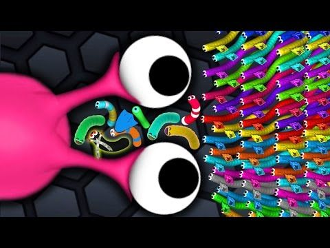 Slither.io Legendary Pro Skill Biggest Snake Killer Slitherio Funny Moments! - YouTube