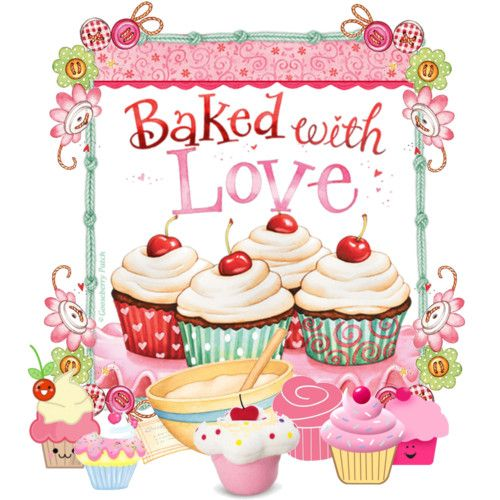 Craft Stuff - would make great birthday card topper for the friend who loves to bake,